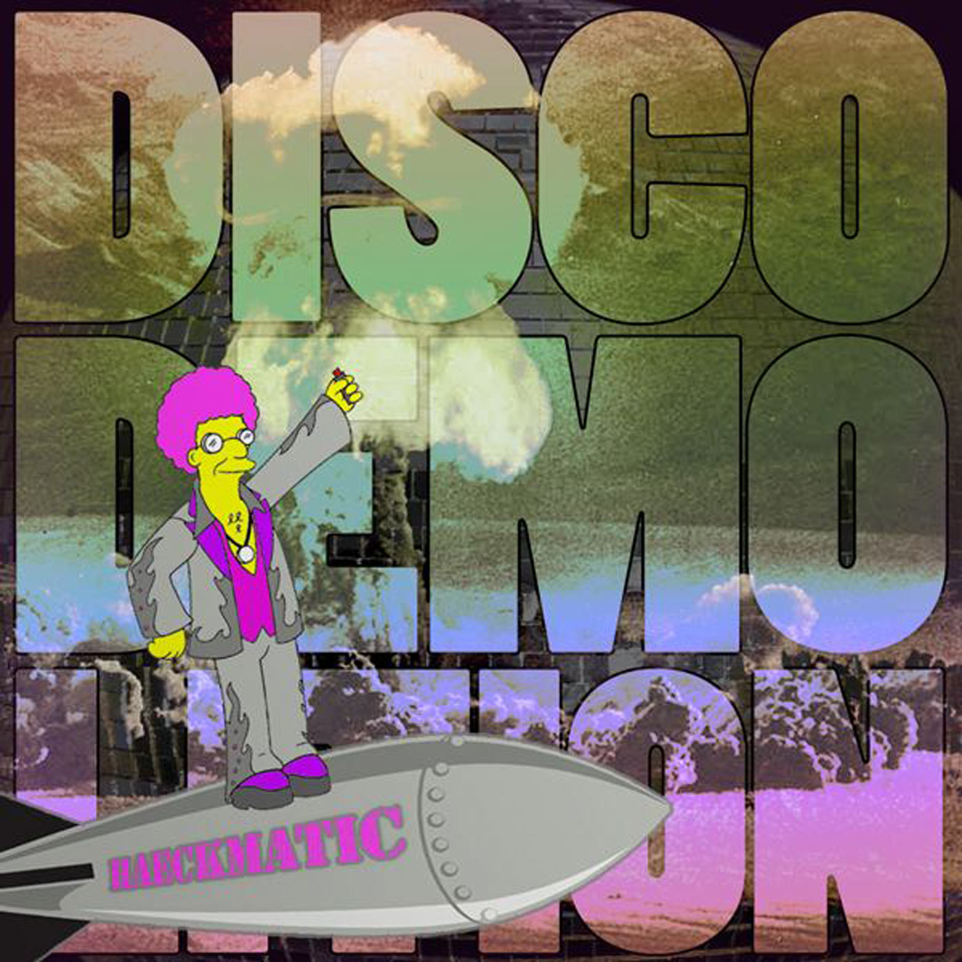Cover - Disco Demolition Mixtape - DJ Haeckmatic